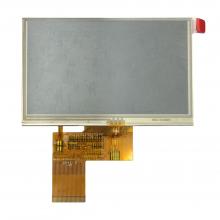 نمایشگر 4.3 اینچ همراه با تاچ TFT LCD 4.3 INCH WITH TOUCH