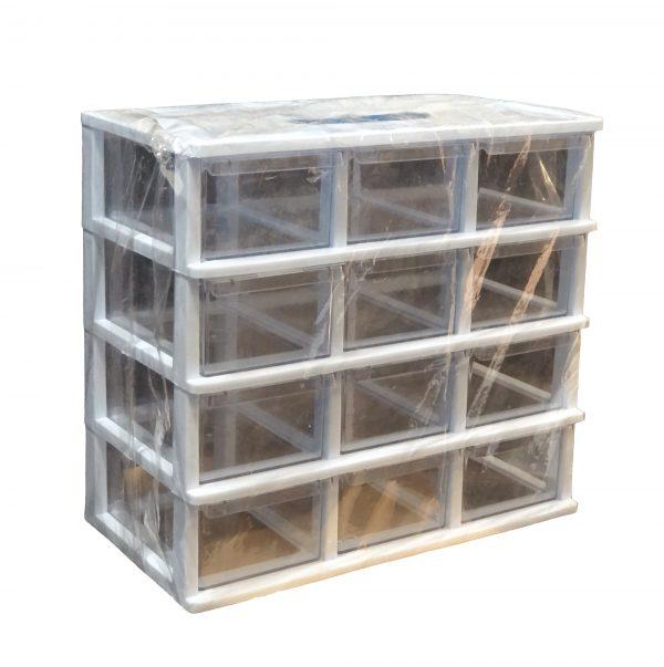 جعبه قطعات 12 کشو
