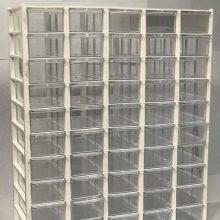 جعبه قطعات ۵۰ کشو (۵*۱۰) کریستالی