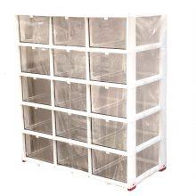 جعبه قطعات ۱۵ کشو (۵*۳) کریستالی نیک